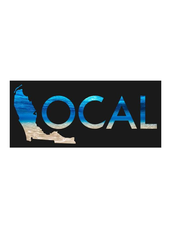 Local Underwater 10 Inches Decal Sticker