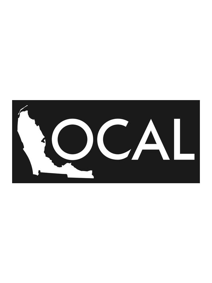 Local Solid Color Decal Stickers 10x4 15x6