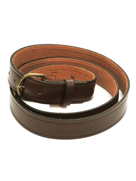 Looper Mens LARGE SIZE Basic Embossed Work Belt 294 Brown