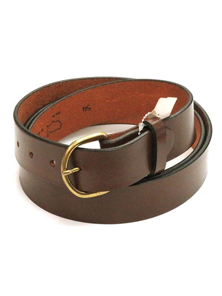 Looper Mens LARGE SIZE Basic Plain Work Belt 5294 Brown