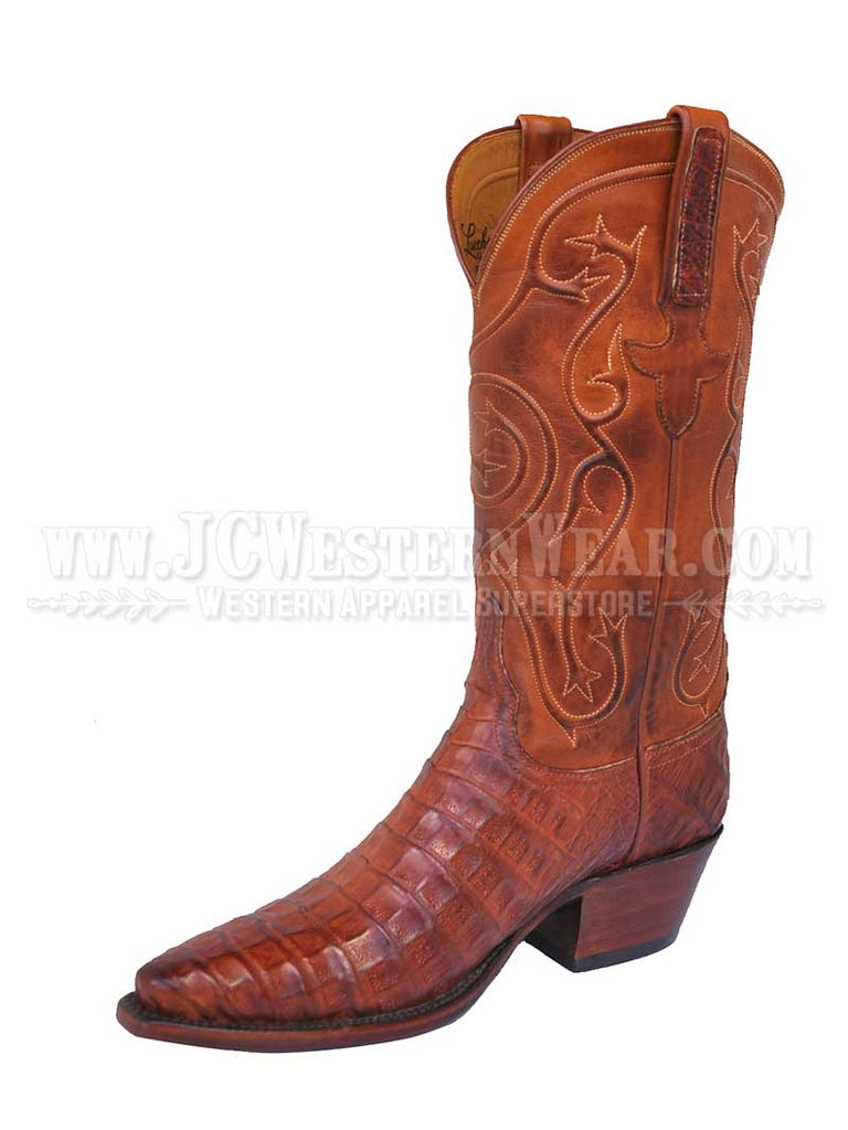 Lucchese Women's Caiman Belly Destroyed Mad Dog Ranch Boots L4110.54 Lucchese - J.C. Western® Wear