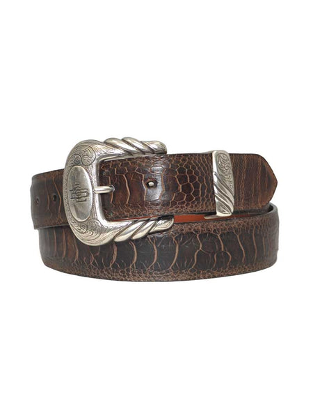 Lucchese Classics Made in USA Genuine Ostrich Western Belt W03118 Lucchese - J.C. Western® Wear