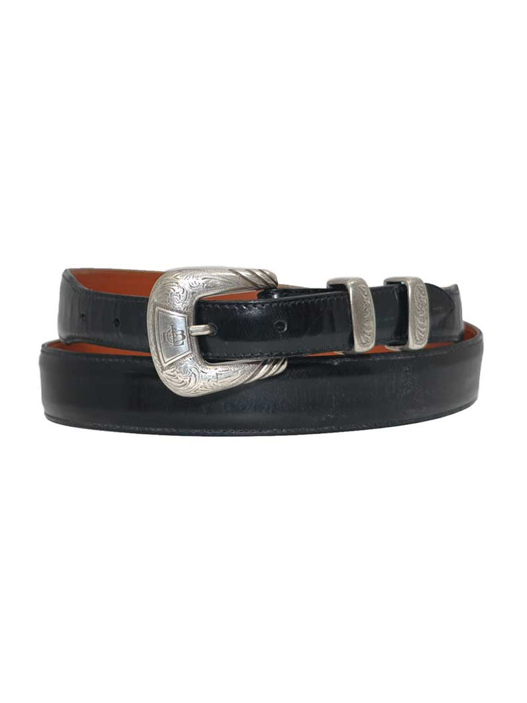 Lucchese Classics USA Made Black Western Dress Belt W03712 Lucchese - J.C. Western® Wear