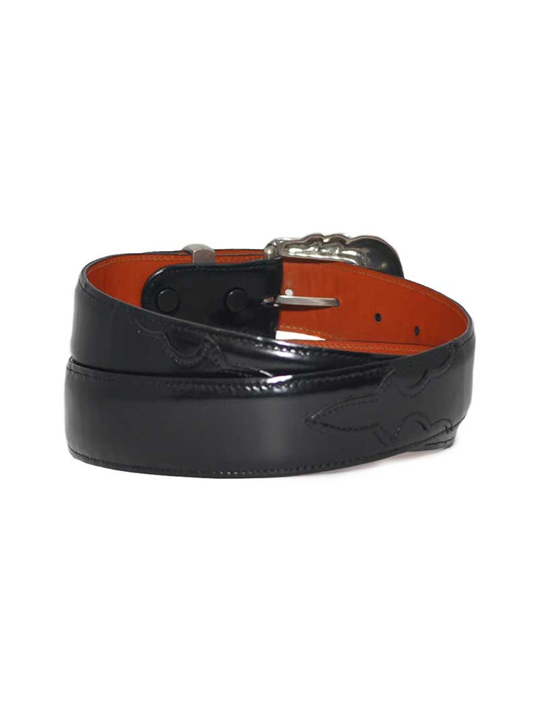 Lucchese Classics USA Made Ranch Hand Black Western Belt W2201 Lucchese - J.C. Western® Wear