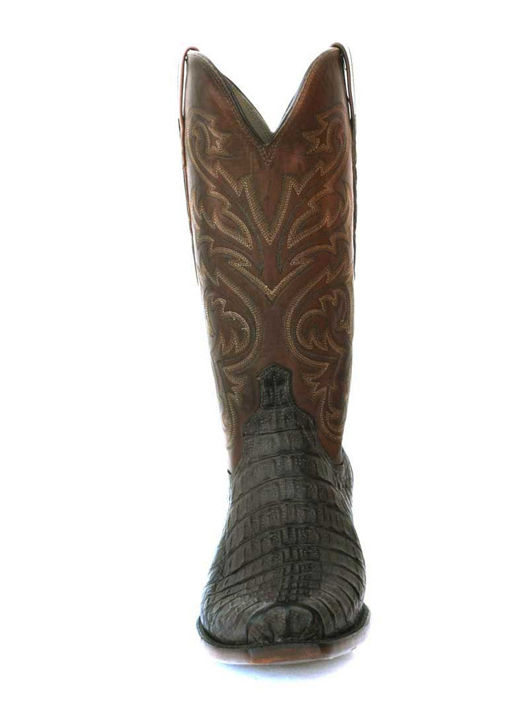 Lucchese HL1015.73 Mens Caiman Cowboy Boot Barrel Brown