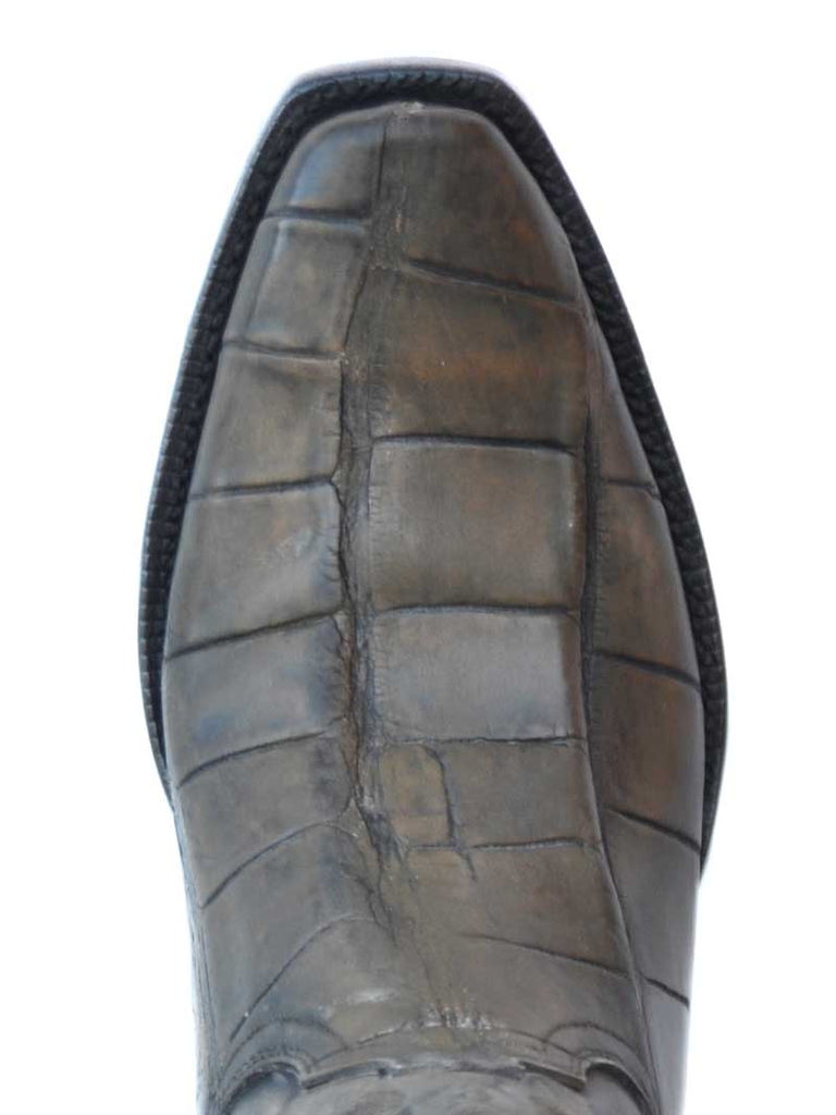 Lucchese HL1020.73 Mens Giant Gator Cowboy Boot Pearl