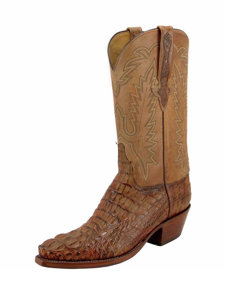 Men's Lucchese Classics Hornback Caiman Skin Boots L1331.54