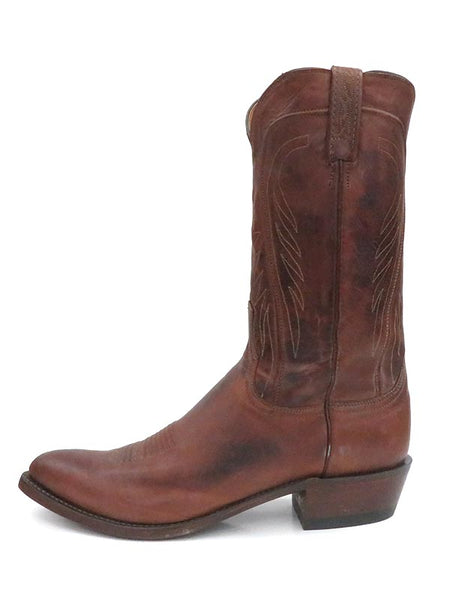 Men's Lucchese Tan Classics Ranch Hand J-Toe Leather Boots N1596.J4 side