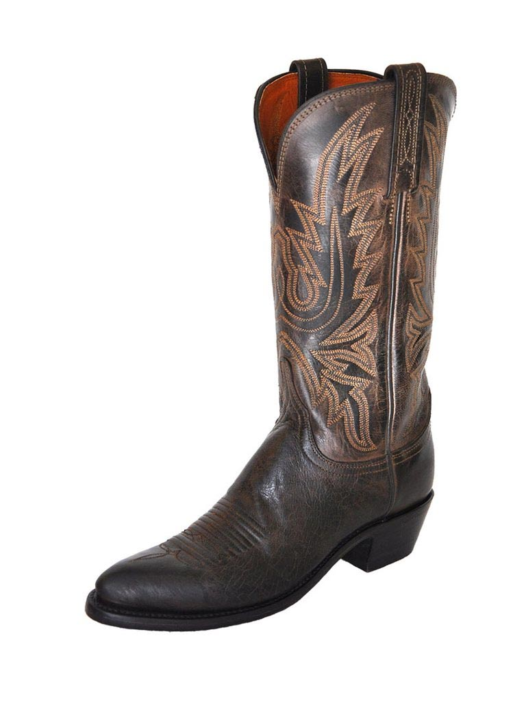 Lucchese Women's Maddog Chocolate J Toe Cowgirl Boots N4554.J4