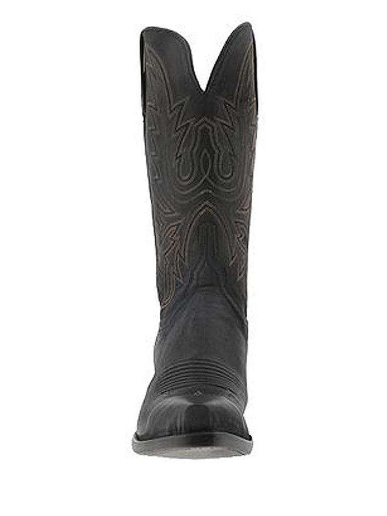 Lucchese N4559.54 Womens Savannah Mad Dog Cowgirl Boots Black Burnished