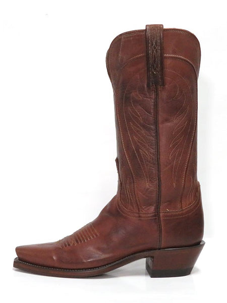 Lucchese N4604.54 Womens 1883 Snip Toe Cowgirl Boots Tan Burnished