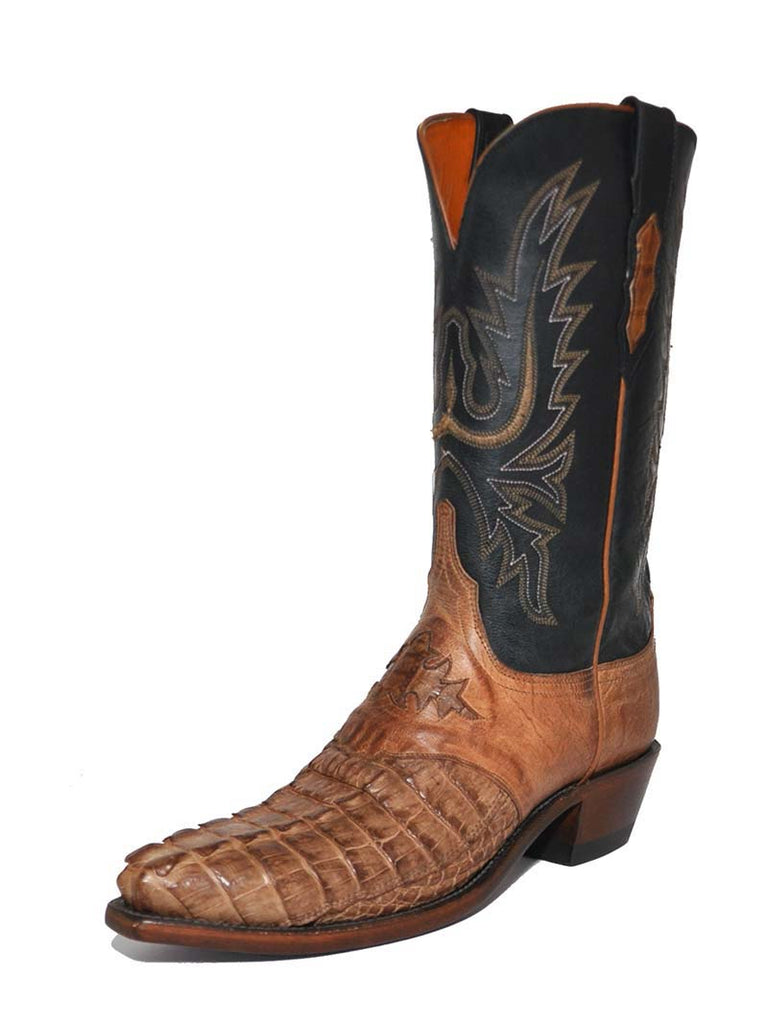 Lucchese Womens 1883 Burnished Horn Back Caiman Boots N4054.54 Lucchese - J.C. Western® Wear