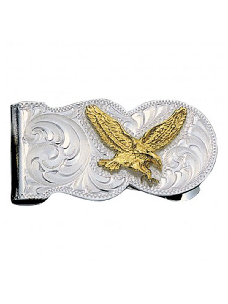 Montana Silversmiths Eagle Scalloped Money Clip Montana Silversmiths - J.C. Western® Wear