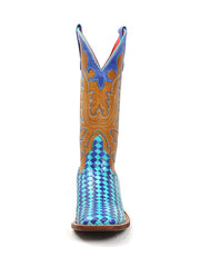 Macie Bean Women's Boot M9074 Unbeweavable Turquoise Blue Anderson Bean - J.C. Western® Wear