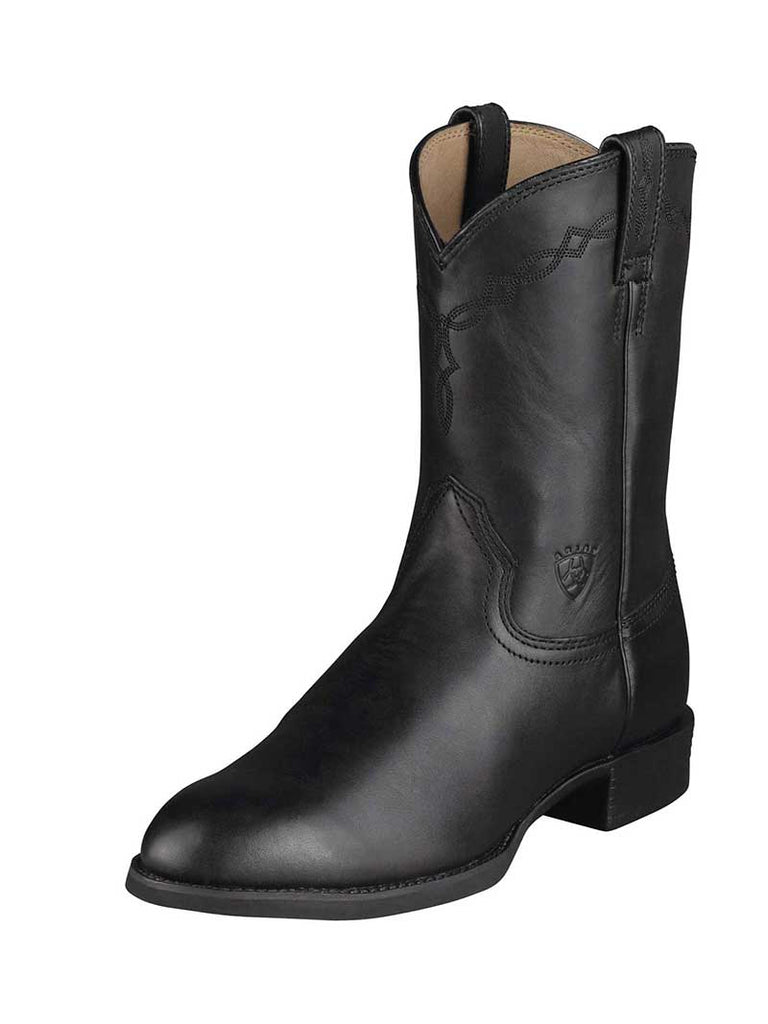 Mens Ariat® Heritage Roper Black Boot 10002280 Ariat - J.C. Western® Wear