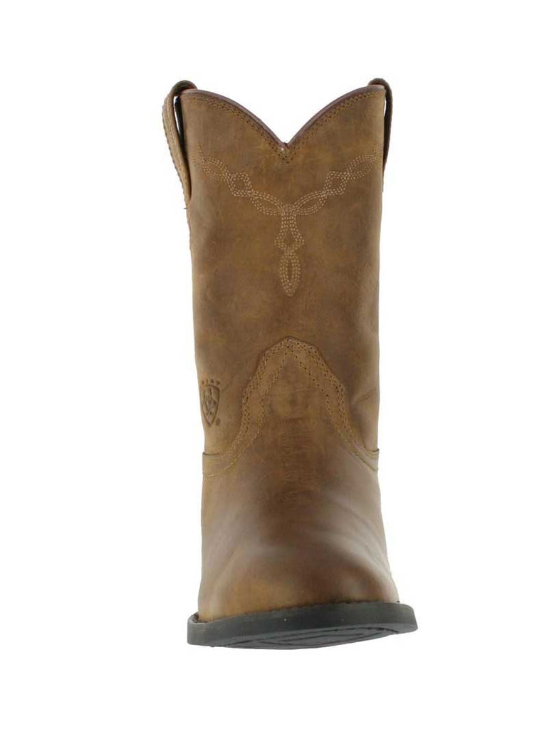 Ariat 10002284 Mens Heritage Roper Boot Distressed Brown