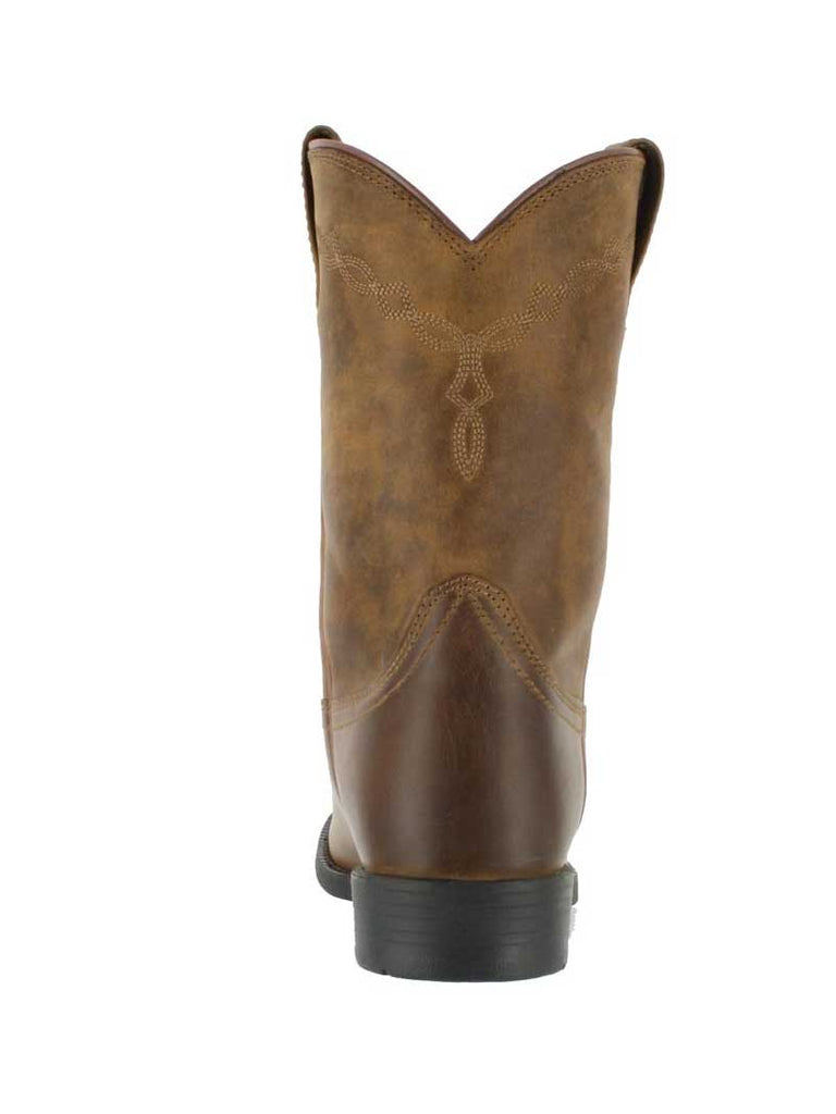 Mens Ariat® Heritage Roper Distressed Brown Boot 10002284 Ariat - J.C. Western® Wear