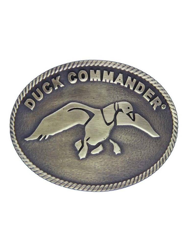 Montana Silversmiths Duck Commander Small Oval Classic Attitude Buckle A301DC Montana Silversmiths - J.C. Western® Wear
