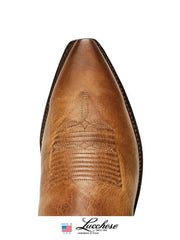 Men's Lucchese 1883 Burnished Mad Dog Goat Boots N1547 Lucchese - J.C. Western® Wear