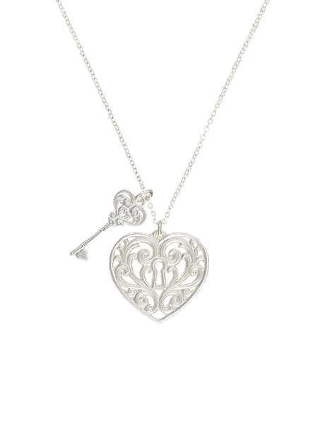 Montana Silversmiths Key To My Heart Necklace NC2421D
