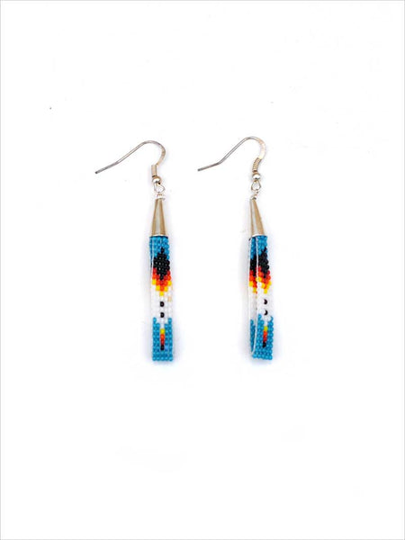 Native American Navajo Hand Made Beaded Earrings NAVAJO-E1 J.C. Western® Wear - J.C. Western® Wear