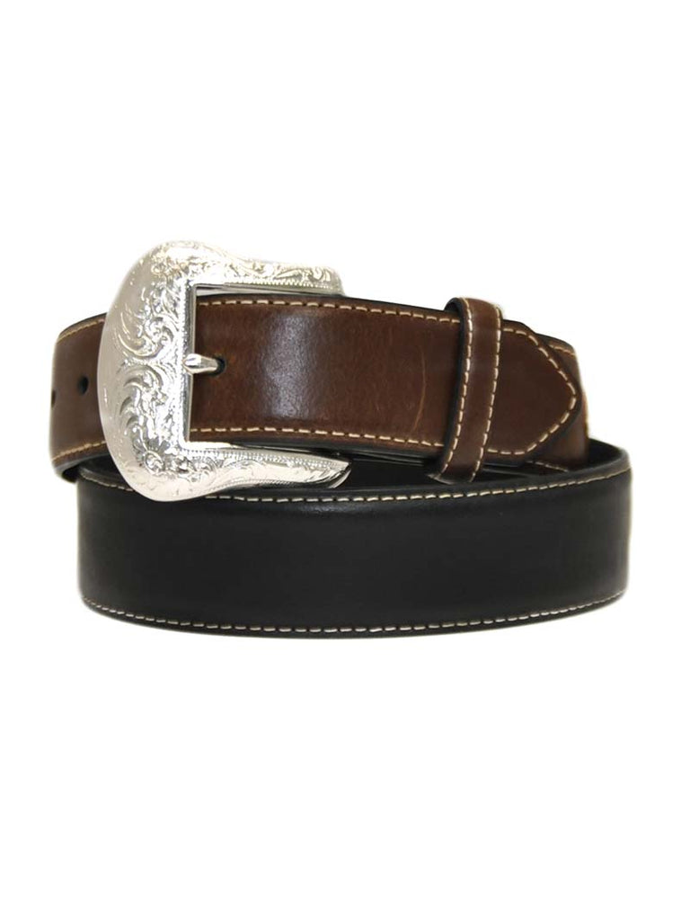 Nocona Men's Lace Billet and Diamond Concho Belt N2475401 Black Nocona - J.C. Western® Wear