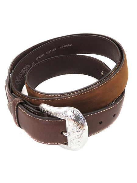 Nocona Mens LARGE SIZE Tapered Billets Classic Western Belt N2475444