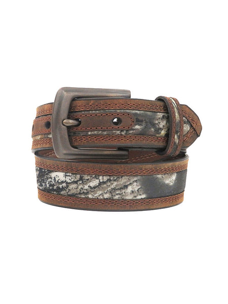 Kid's Nocona Mossy Oak Camo Leather Belt N44192222 Nocona - JC Western® Wear