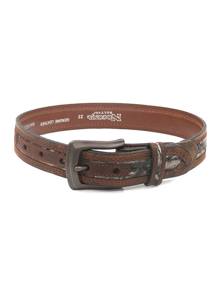 Kid's Nocona Mossy Oak Camo Leather Belt N44192222