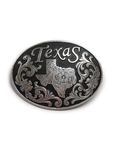 Nocona Texas State Oval Belt Buckle 37674