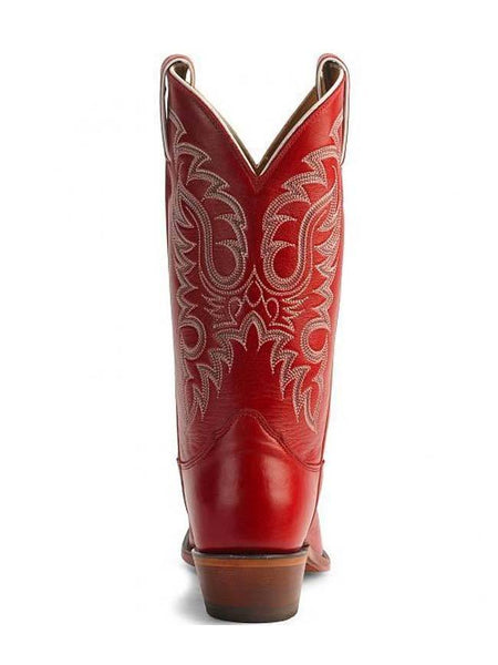 Nocona LD2736 Women's Legacy Soft Ice Snip Toe Boot Red