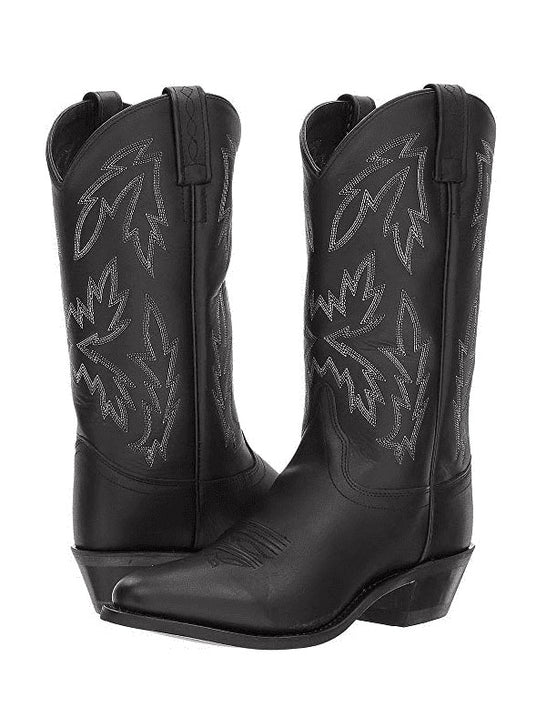 Old West OW2010L Womens Polanil Round Toe Western Boot Black