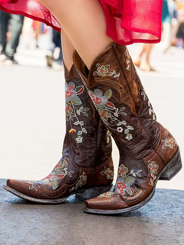 Old Gringo Womens Bonnie Brass Cowgirl Boots L649-1 – J.C. Western ...