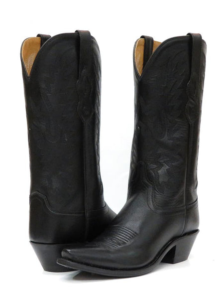Old West Womens Fashion Snip Toe Cowgirl Boots LF1510 Black OLD WEST BOOTS