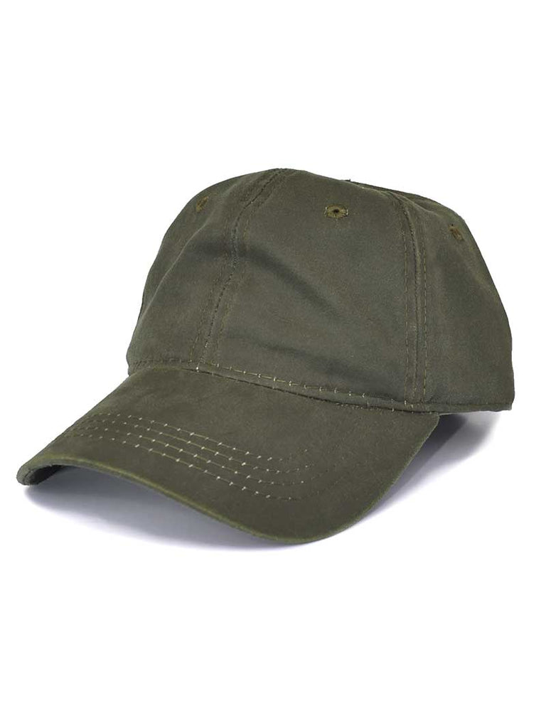 Outdoor Cap Mens Weathered Cotton Washed Olive Trucker Hat HPD605-OLV Outdoor Cap - J.C. Western® Wear