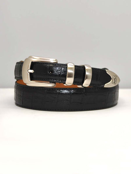 Mens PGA Tour Classic Dress Black Leather Belt 2669500BK J.C. Western® Wear - J.C. Western® Wear