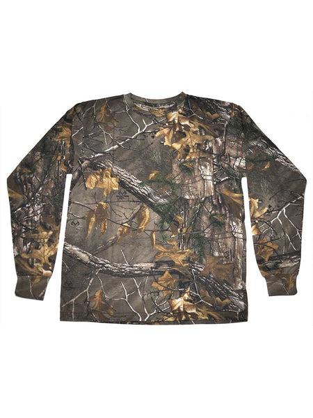 Ranger M331123 Mens Camo Long Sleeve Realtree Tee
