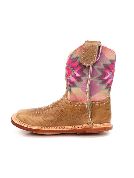 Roper Infants Multicolor Aztec Square Toe Cowbaby Boot 1367TA side