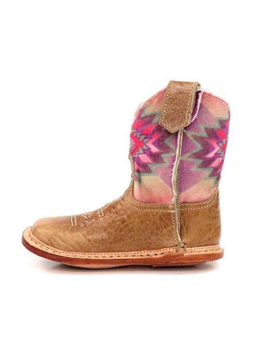 Roper Infants Multicolor Aztec Square Toe Cowbaby Boot 1367TA