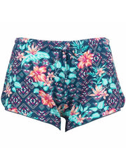Salt Life SLJ480 Women Comfy ALOHA Tribe Short Hyper Teal