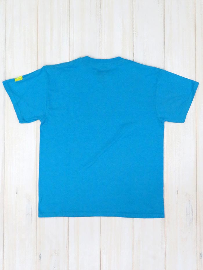 Salt Life Kid Electric Fish Short Sleeve Turquoise Heather Tee SLY1131 Front View