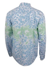 Salt Life Mens Cabo Long Sleeve Woven Shirt SLM30060 Light Blue Salt Life - J.C. Western® Wear