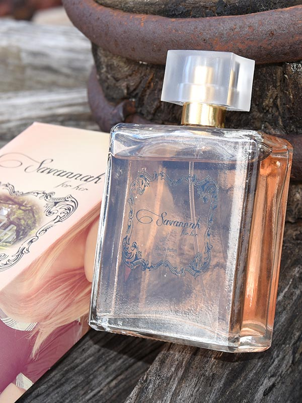 Womens Authentic SAVANNAH Western Perfume