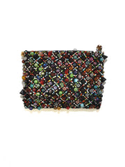 Women's Western Crystal Small Coin Purse 753468 Front