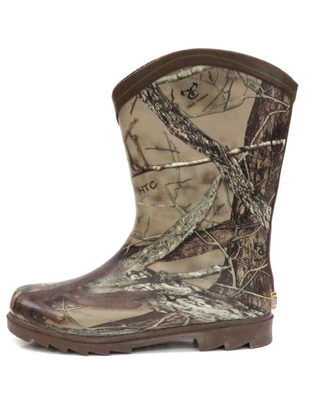 Smoky Mountain Kids Muddy River Waterproof Boots 2723Y 2723C Camo , Side View