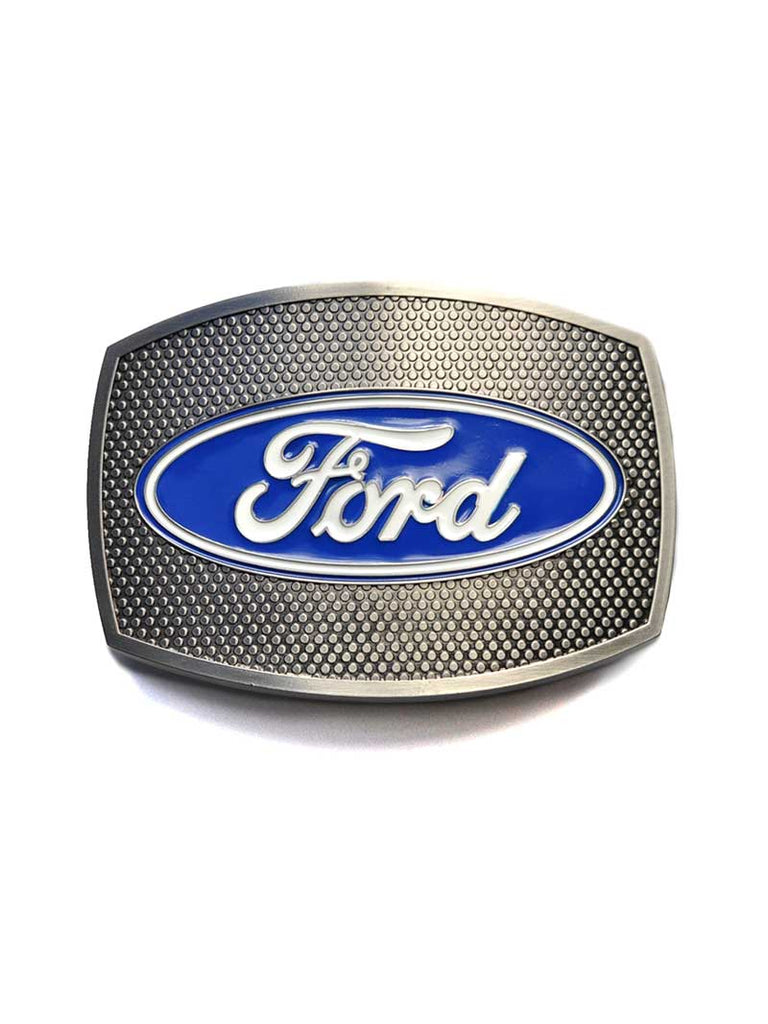 Ford Oval Grille Plate Belt Buckle 09120