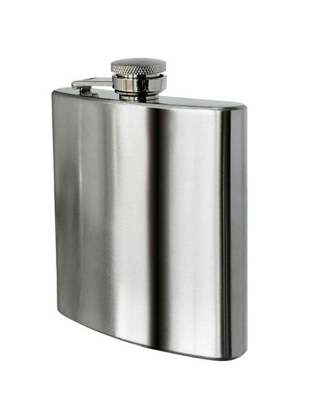 8 oz Stainless Steel Hip Flask Alcohol Travel Container FLASK8OZ J.C. Western® Wear - J.C. Western® Wear