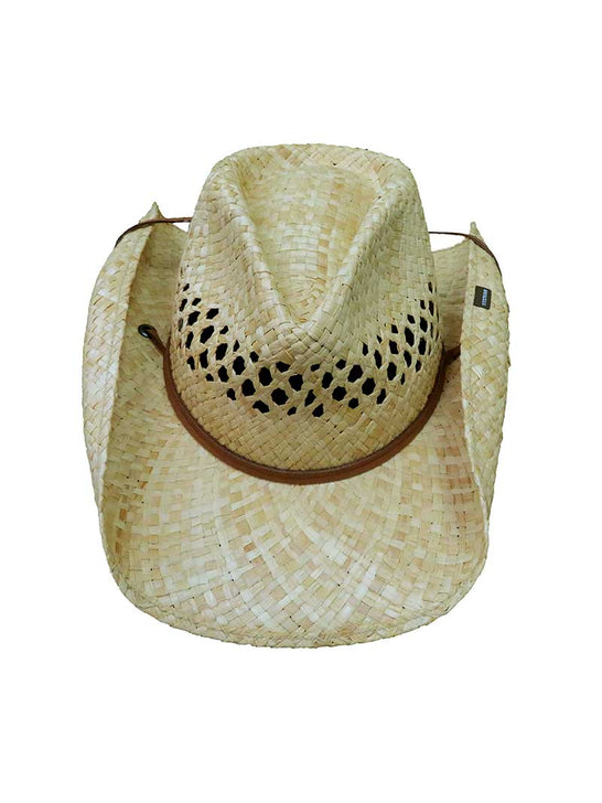 Stetson Mens BRIDGER Raffia Outdoor Straw Hat TSBRGR-9334