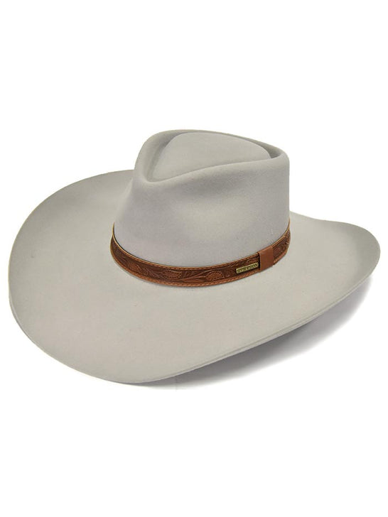 Stetson Men Legendary Collection 6x Longmont Felt Hat SFLGMT-884007 Side Front