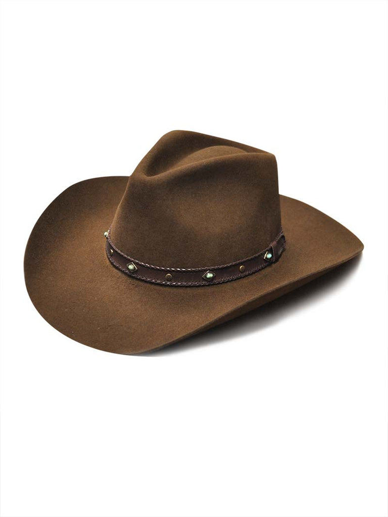 76e5fd1696f95 Men s Stetson Sunset Ride 4X Mink Fur Felt Cowboy Hat SBSSRD 413423 ...